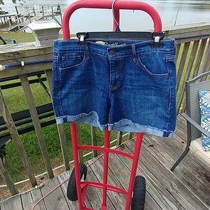 Old Navy sweetheart shorts.